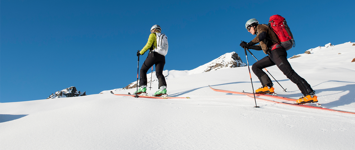 Why not give ski touring a go?!
