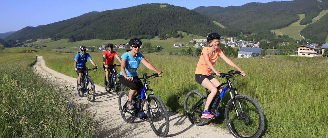 E-bikes are creating quite a buzz in the mountains!