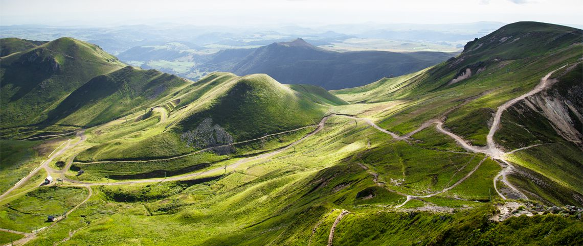 Auvergne landscapes : living the slow life