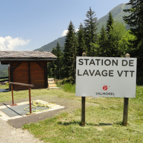 Station de lavage VTT Valmorel
