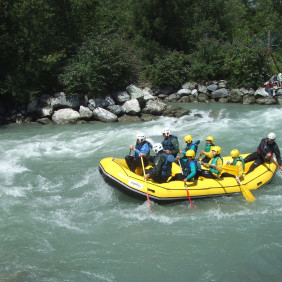 Rafting, canoraft, hydrospeed, airboat
