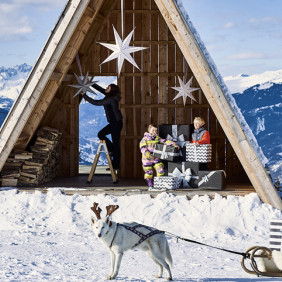 In the French mountains, Christmas is magical