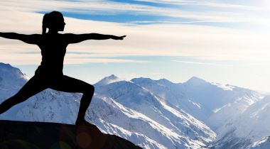 Mountain yoga: well-being top to toe!