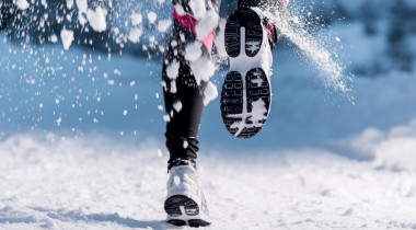 Running in the snow: why not have a go at a snow trail?